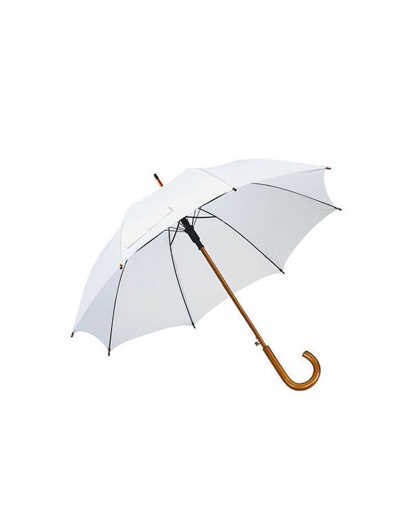 Automaattinen Sateenvarjo Puukahvalla